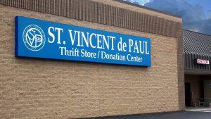 St. Vincent de Paul storefront.