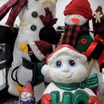 Snowmen in the St. Vincent de Paul Christmas section, Fond du Lac.