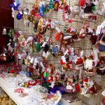 Christmas ornament section at St. Vincent de Paul, Fond du Lac.