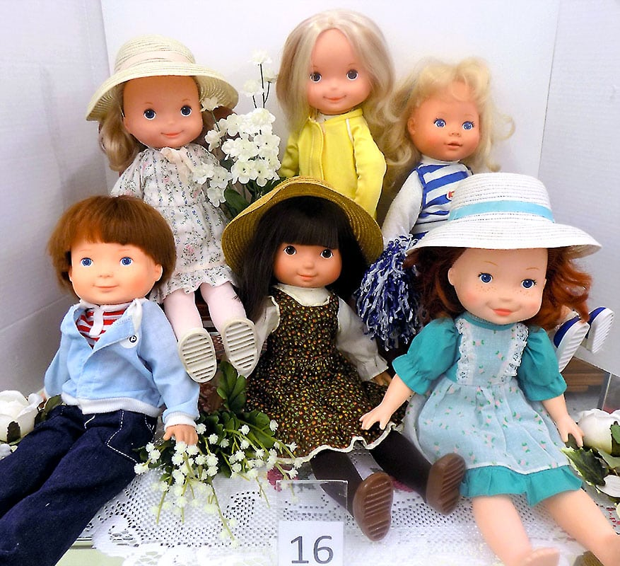 1970's Fisher Price doll friends.