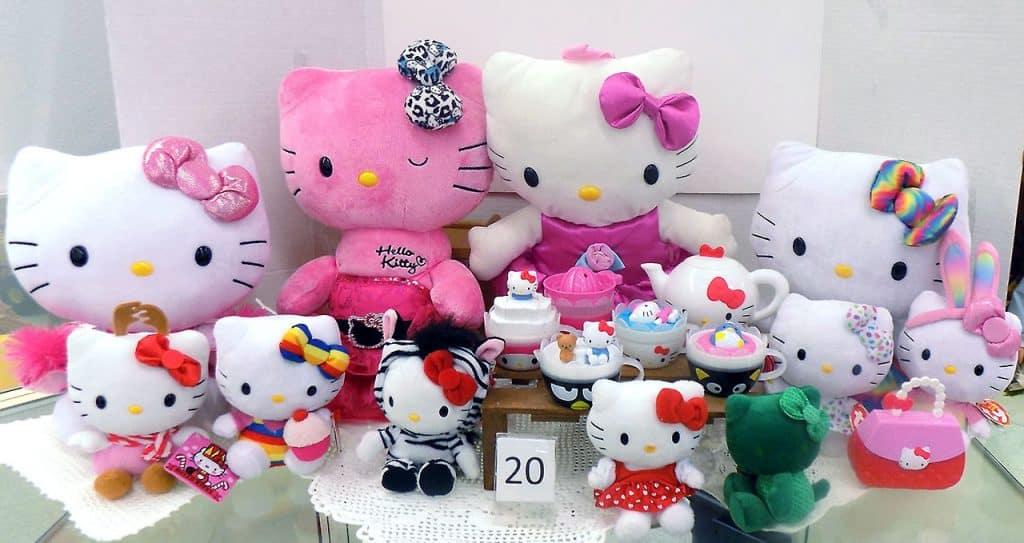 Hello Kitty tea party extravaganza.