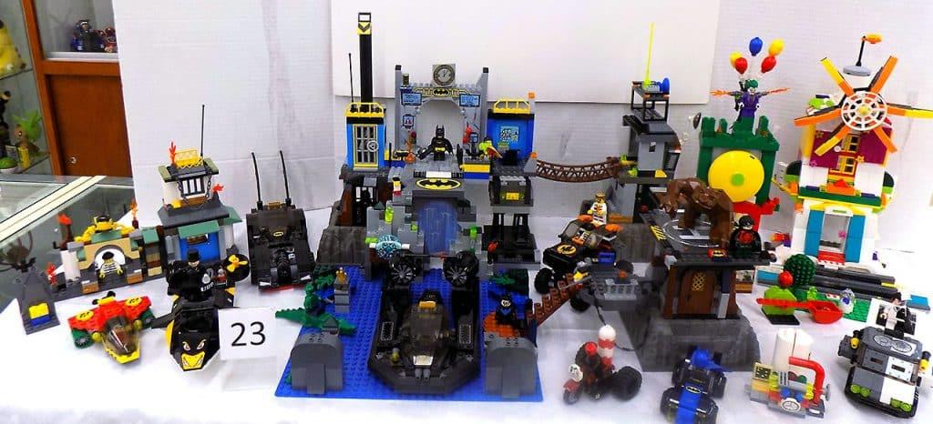Lego collection including Batman vs Joker.