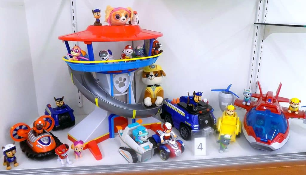 Paw Patrol collection.