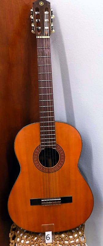 Yamaha G60-A Acoustic guitar.