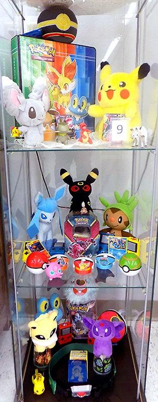 """Gotta Catch 'Em All"" Pokemon merchandise."