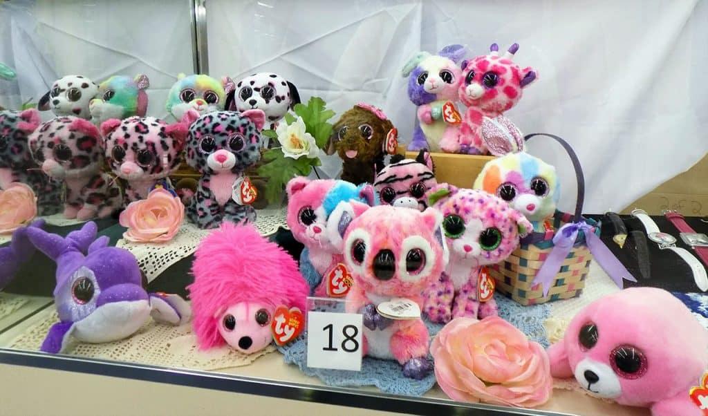 Fifteen Ty Beanie Boo plushies