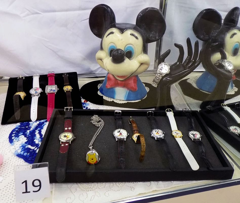 Assortment of Disney and vintage Mickey Mouse watches