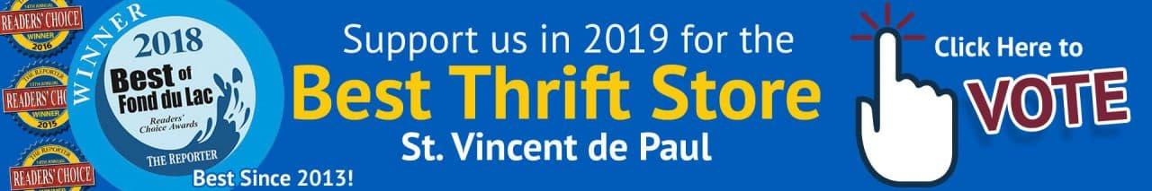 2018 Best Thrift Store