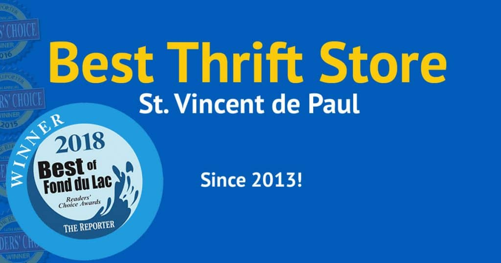 2018 Best Thrift Store Vote