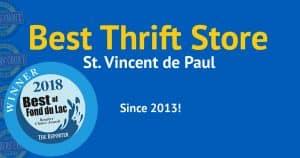 2018 Best Thrift Store Vote