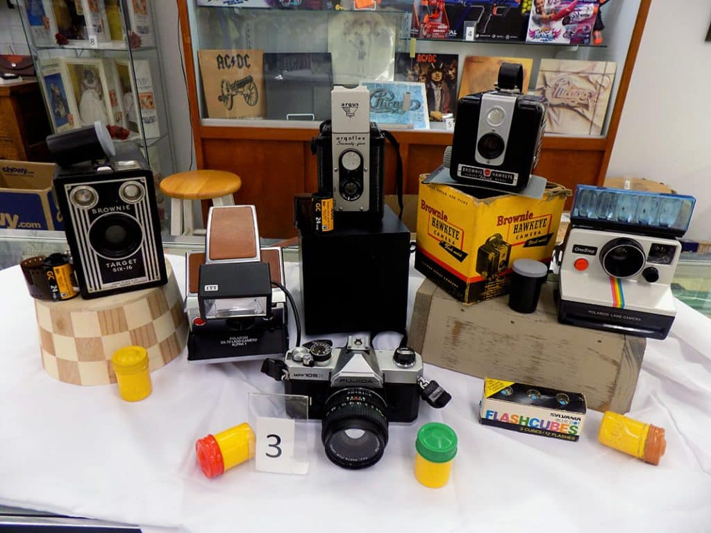 Oh snap! Vintage camera collection