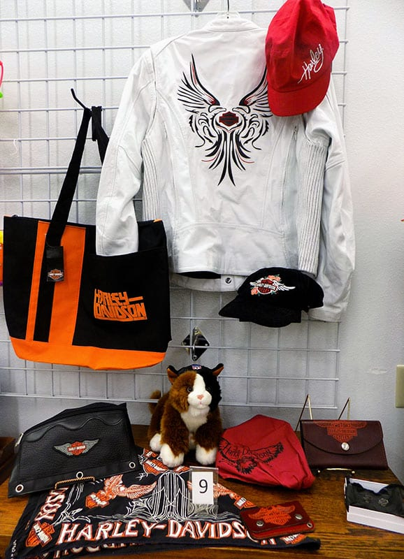 Ladies leather Harley Davidson jacket (size 1W) with accessories