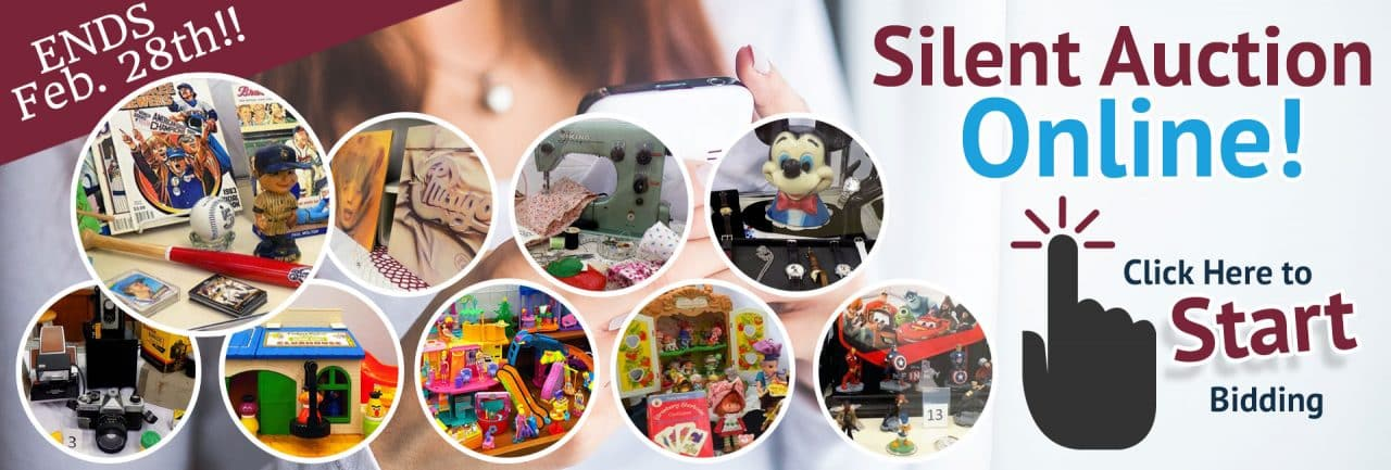 SVDP February 2019 Silent Auction. Items brands include Milwaukee Brewers merchandise, vinyl records, Viking sewing machine, Mickey Mouse watches, vintage cameras, Sesame Street toys, Polly Pocket toys, Strawberry Shortcake dolls, Disney Infinity figurines and more!