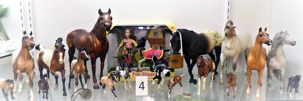 Breyer horse team.