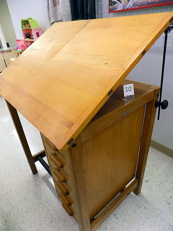 Hamilton drafting table.