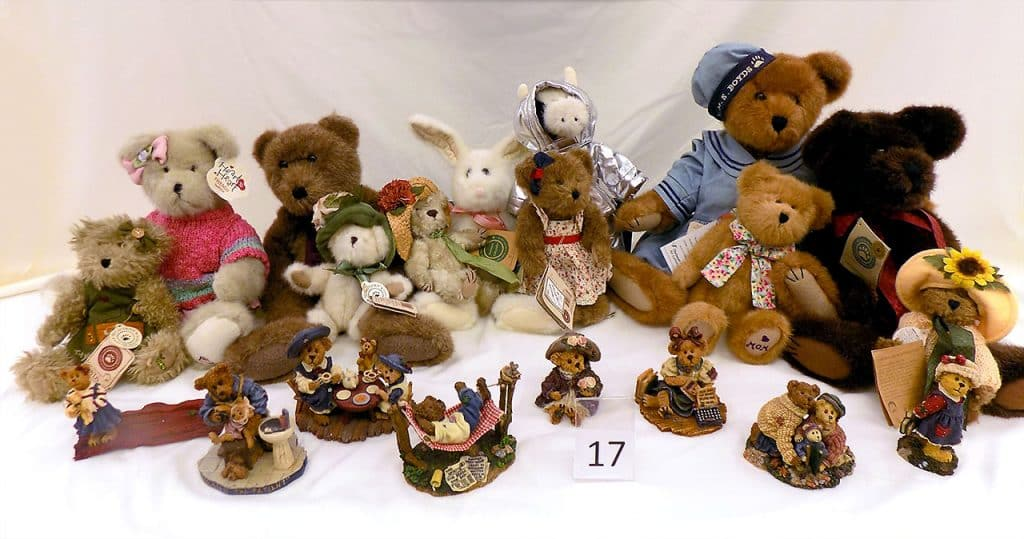 Boyds Bears collection.