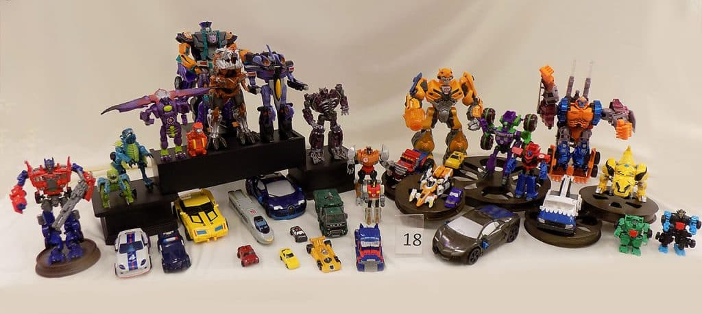 Transformers toy lot.