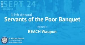 11th Annual Servants of the Poor Banquet.