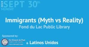 Immigrants (Myth vs Reality) event.