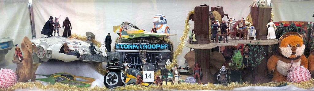Star Wars toy lot.