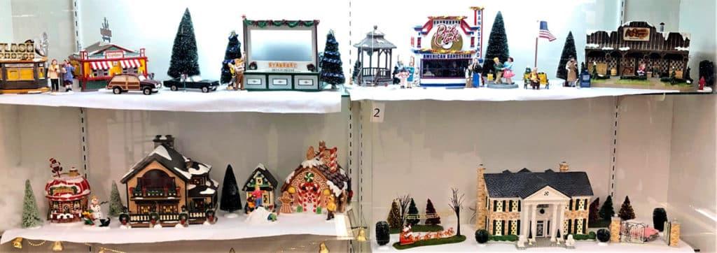 Snow Village collectibles.