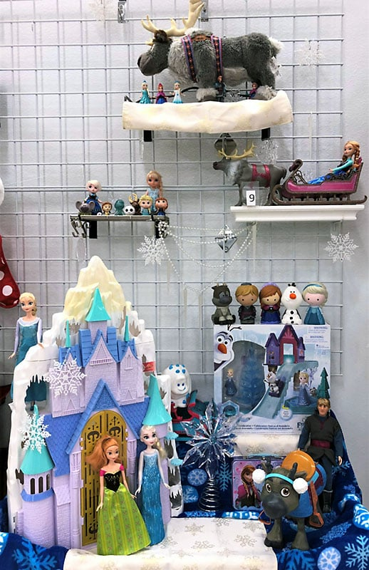 Disney Frozen toy lot and playsets.