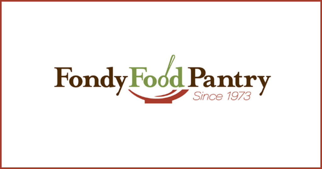 Fondy Food Pantry logo with border.