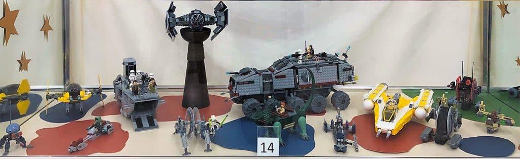 Star Wars LEGO lot.