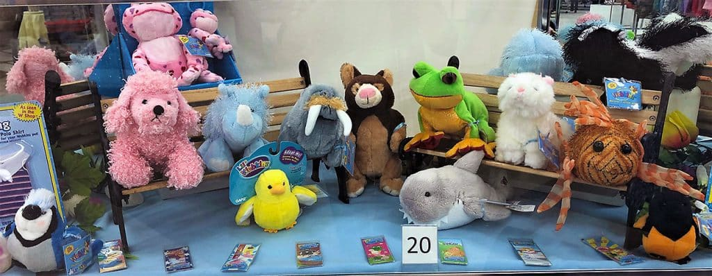 Webkinz plush doll and cards collection.