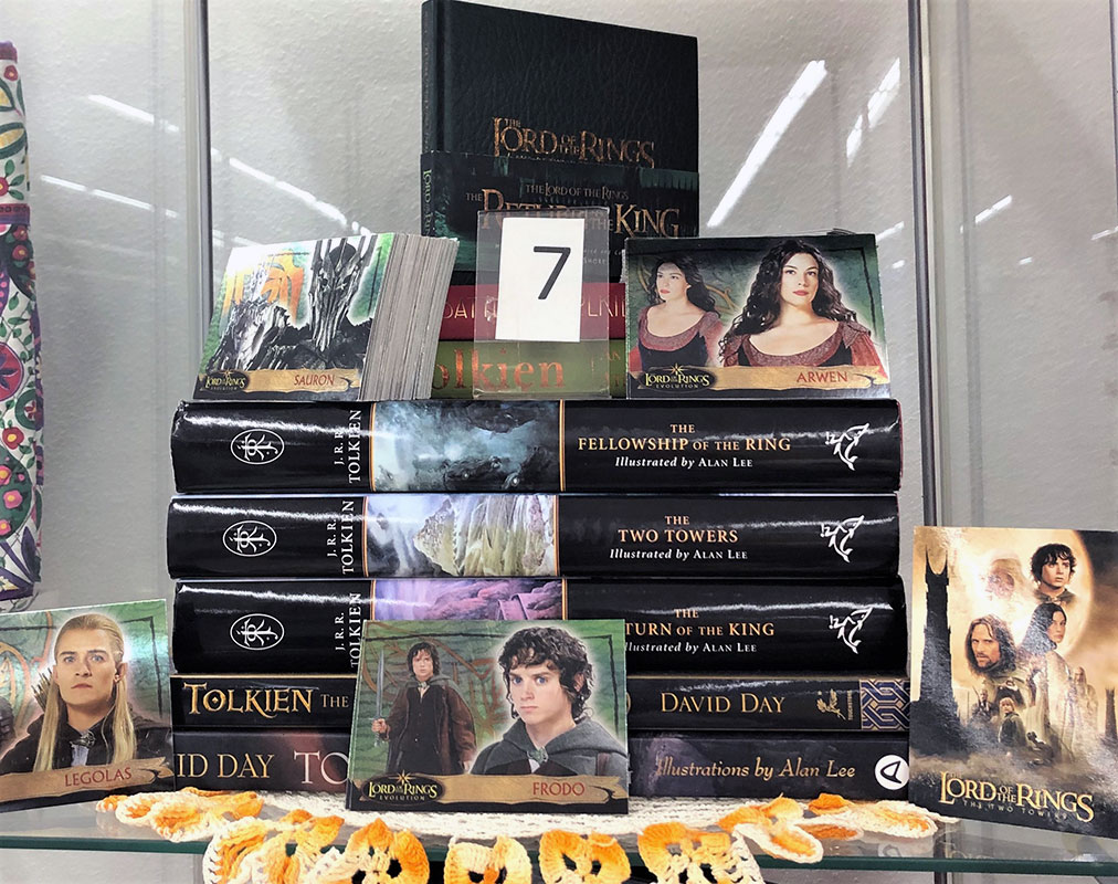 LOTR Lord of the Rings book sets.