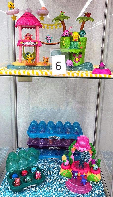 Hatchimals Hawaiian toys.