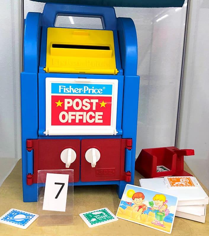 Fisher Price toy mailbox.
