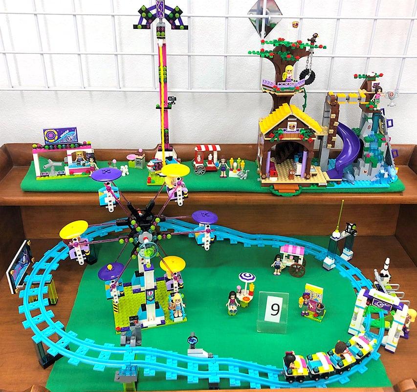 LEGO friends at fair sets.