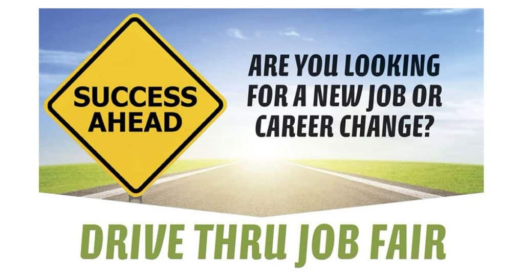 Drive Thru Job Fair featured image.