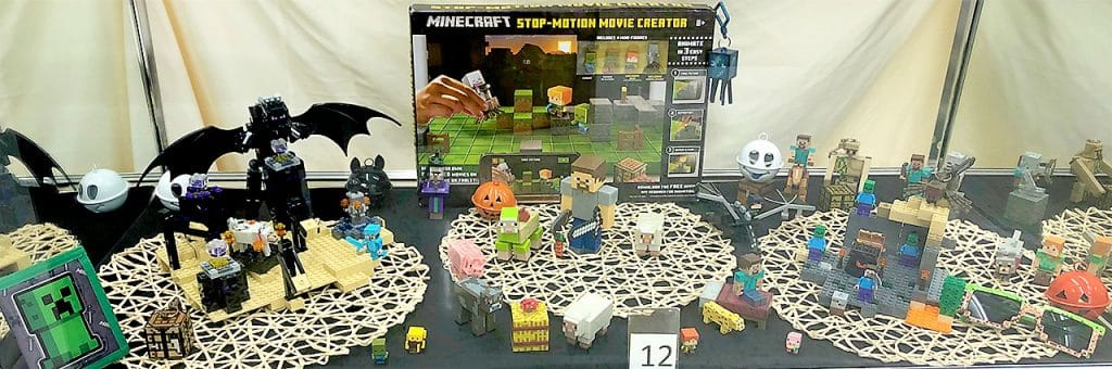Minecraft toy lot.