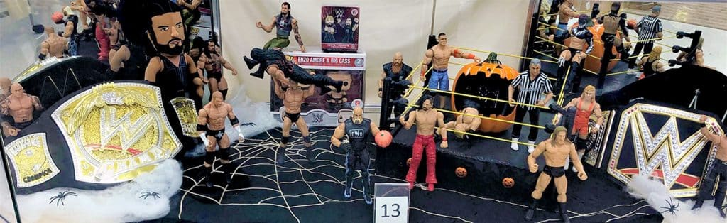WWE toy lot.