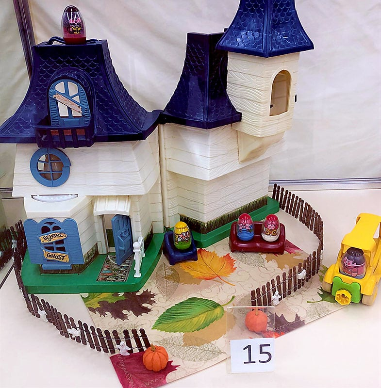 Weebles house playset.