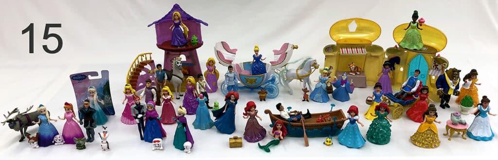 Disney Princess figurines assortment.