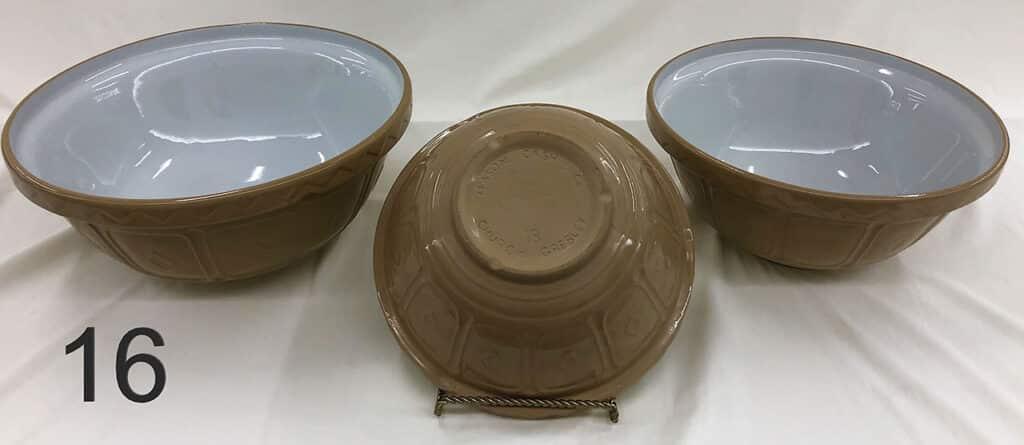 Mason Cash Co. | Church Gresley bowls.
