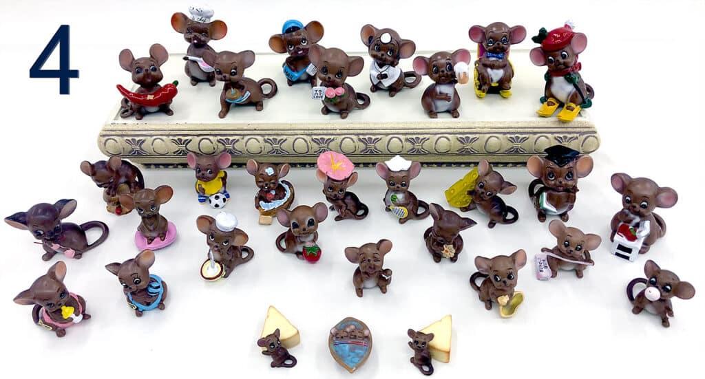 Josef Mice figurines collection.