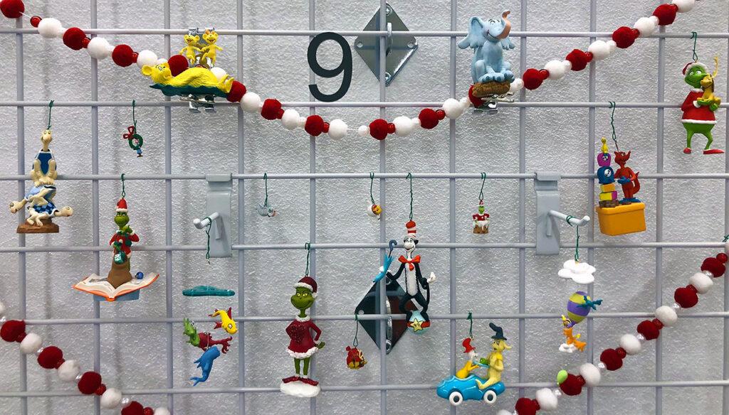 Dr Seuss Hallmark ornaments collection.