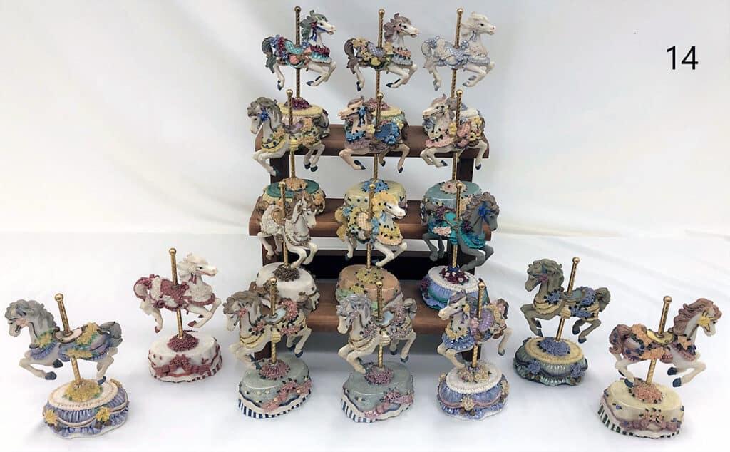 Carousel horse decorations