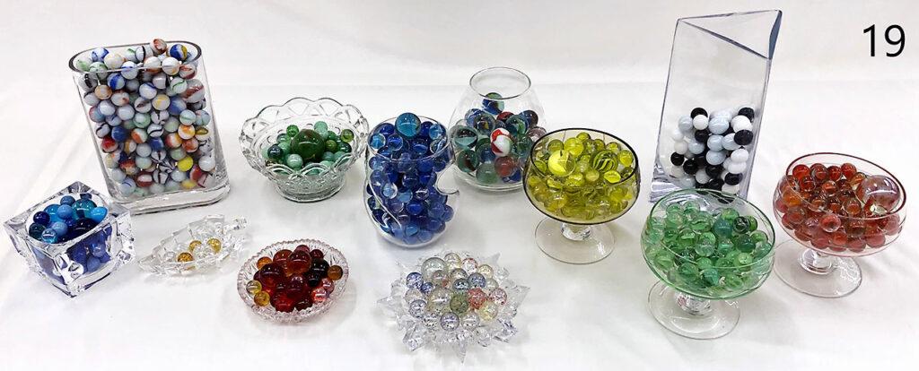 Glass Marbles for vases.