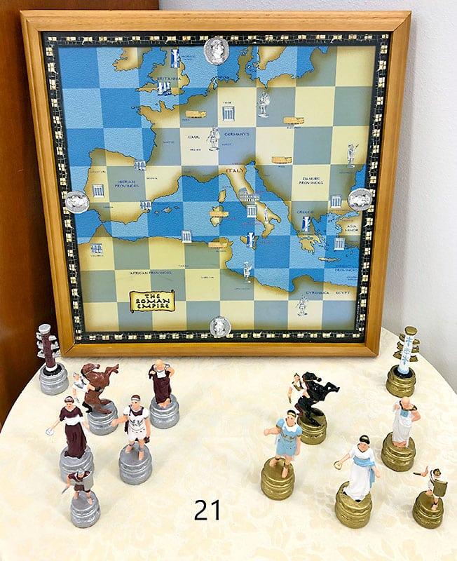 Roman empire chess set.