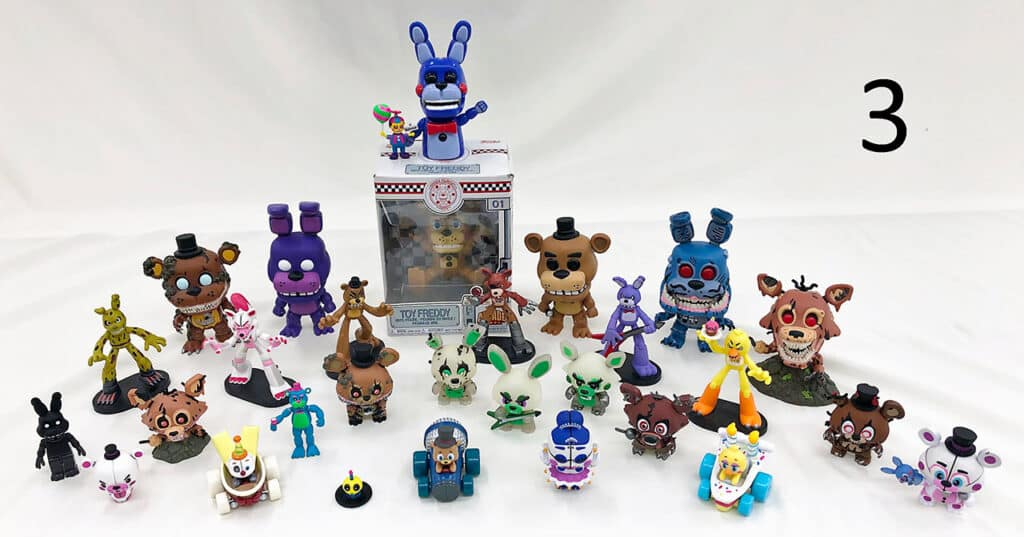 Five nights at freddys collection.