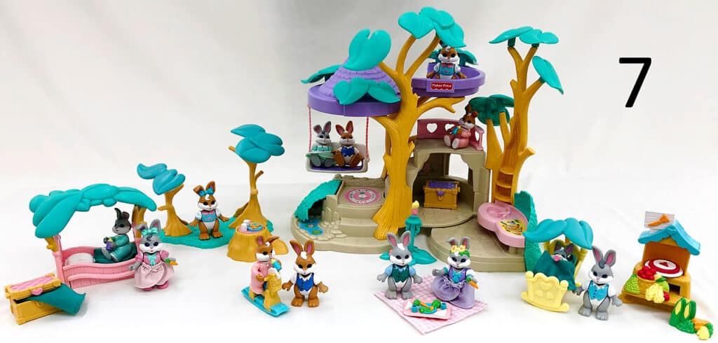 Fisher price hideaway hollow.