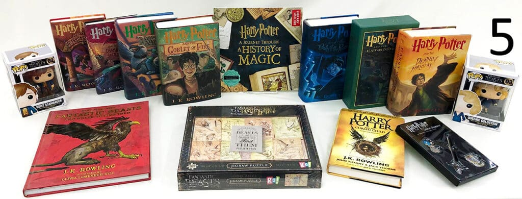 Harry Potter book set collection.