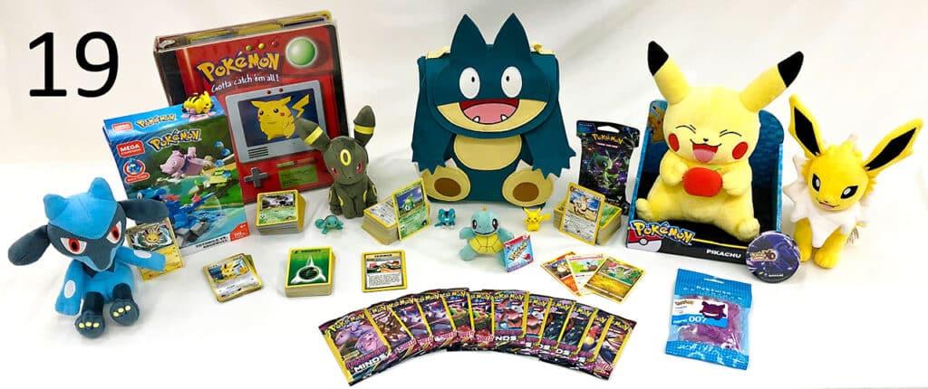 Pokémon collectibles.
