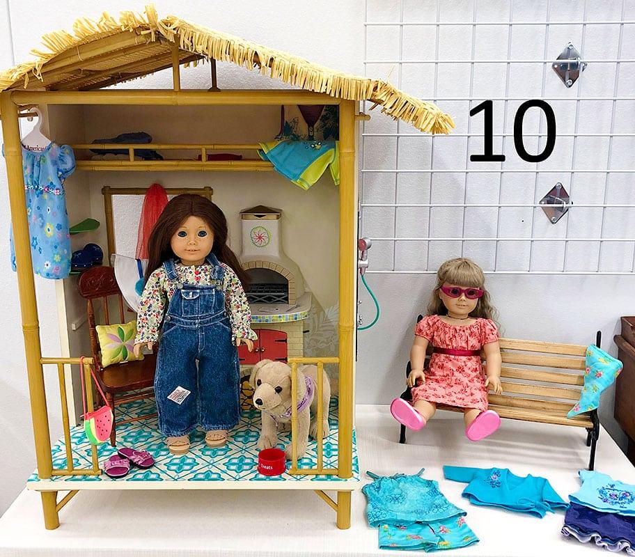 American girl dolls.